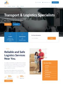 Designed Website for A2bfreights Co