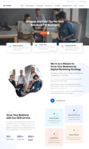 Designed Website for Topency LTD